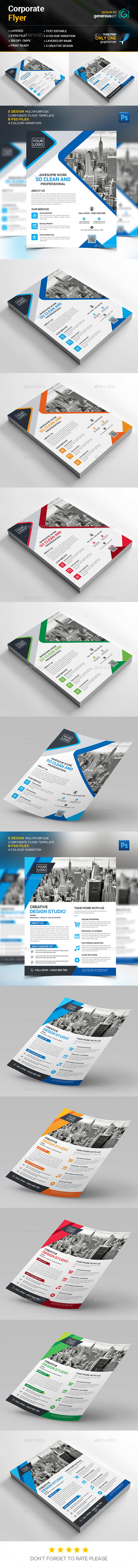 Mega Corporate Flyer - Corporate Flyers