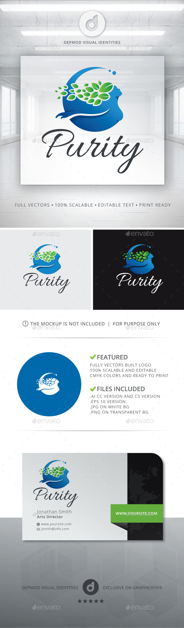 Purity Logo - Humans Logo Templates