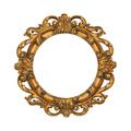 Oval golden frame - PhotoDune Item for Sale