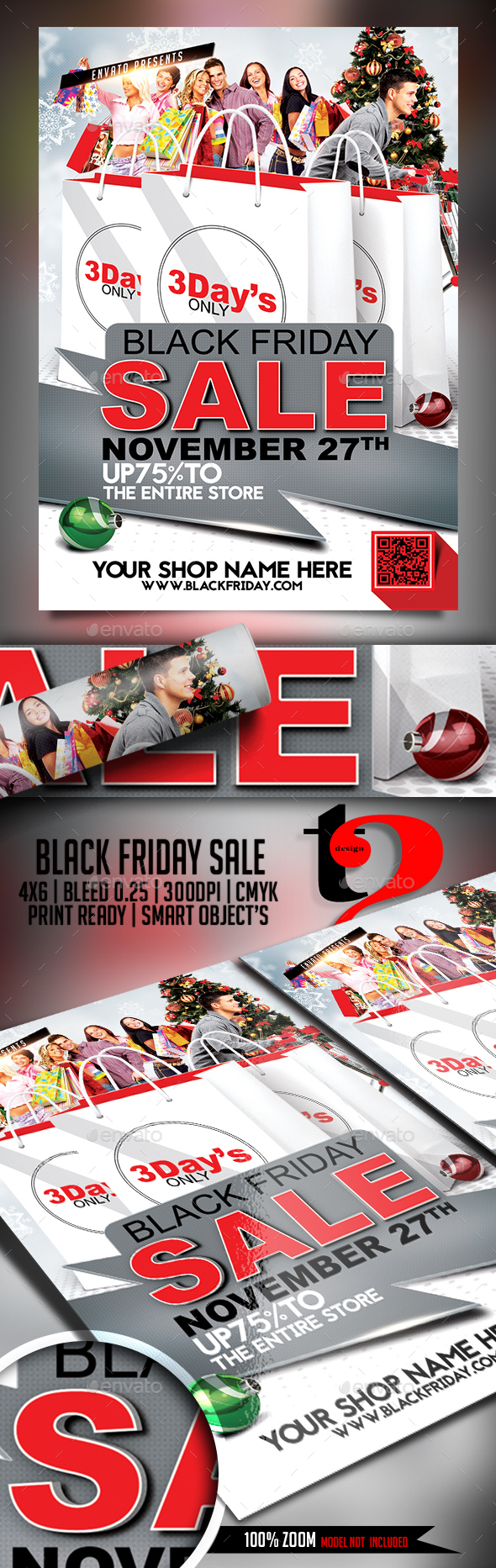 Black Friday Flyer Template - Flyers Print Templates