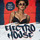 Electro House Nightclub Flyer - GraphicRiver Item for Sale