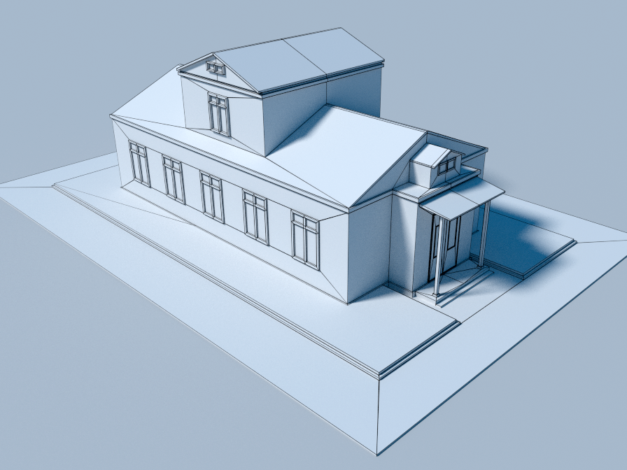 Low Poly Houses by Motion_Boy | 3DOcean