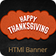 Thanksgiving | HTML5 Animated Banner - CodeCanyon Item for Sale