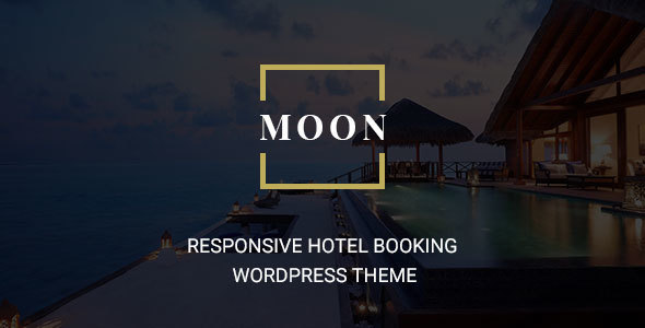 Moon – Responsive Hotel Booking WordPress Theme