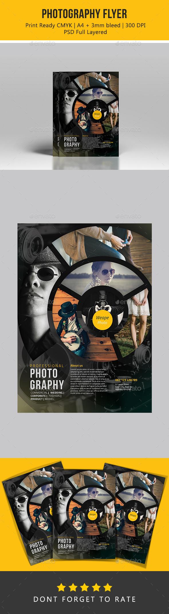 Photography Flyer - Flyers Print Templates