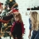 Family Decorating The Christmas Tree - VideoHive Item for Sale