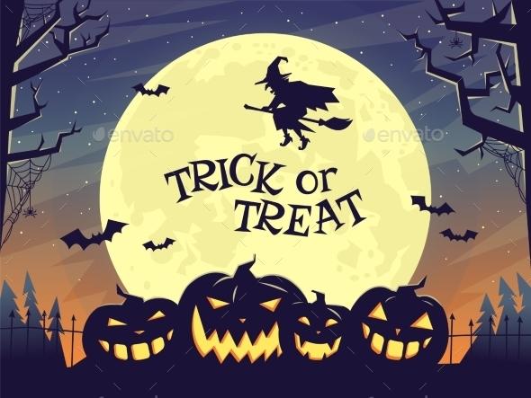 Trick or Treat - Halloween Seasons/Holidays