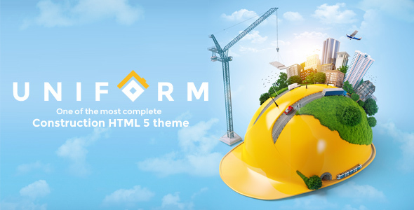 Uniform – Building & Construction HTML Template