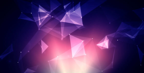 Polygons and dots purple background by acv26 videohive play preview video voltagebd Image collections