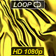 Luxurious Rippled Gold Fabric - VideoHive Item for Sale