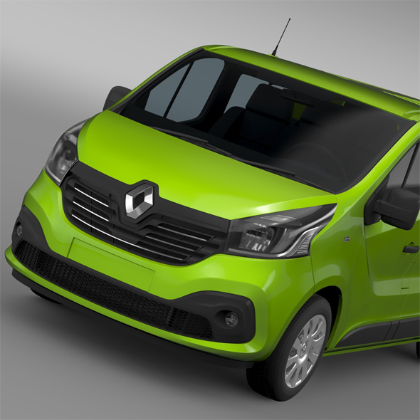 Renault Trafic Combi 2015 - 3DOcean Item for Sale