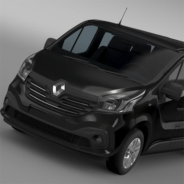 Renault Trafic Minibus L2H1 2015 - 3DOcean Item for Sale