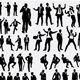 100 More Business Silhouettes - GraphicRiver Item for Sale