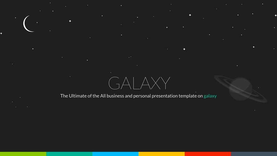 galaxy business powerpoint by kartodarim
