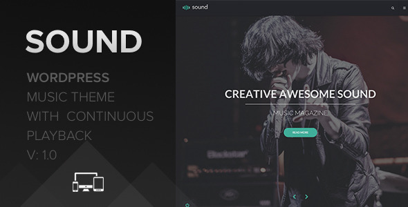 Sound Music Theme – With Continuous Playback