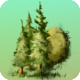 Trees sprite sheet for 2d or isometric - GraphicRiver Item for Sale