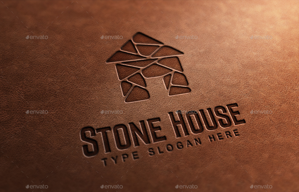Stone House Logo Template By Propen Graphicriver
