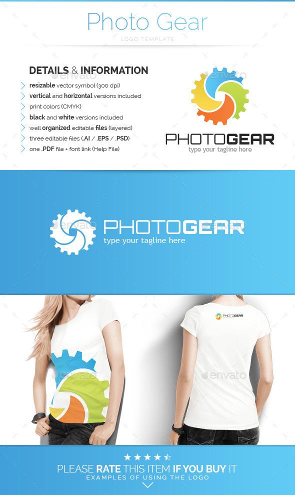 Photo Gear - Logo Template - Abstract Logo Templates