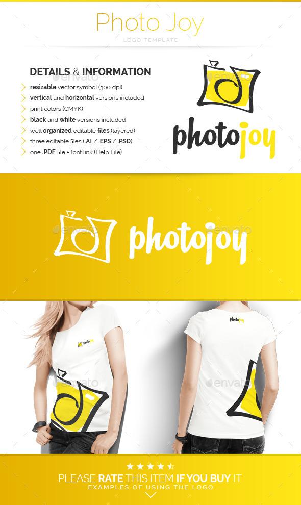 Photo Joy - Logo Template - Objects Logo Templates