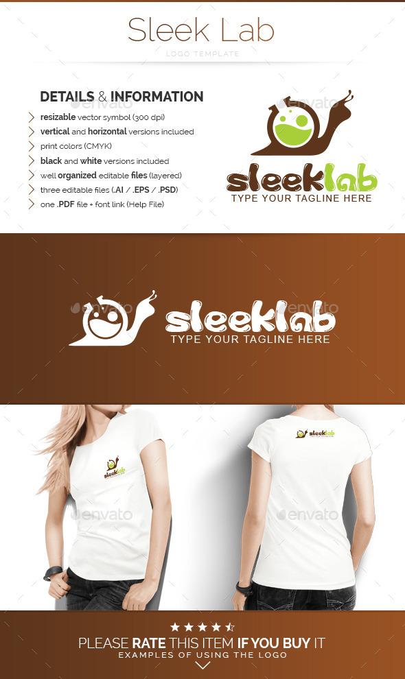 Sleek Lab - Logo Template - Animals Logo Templates