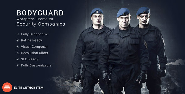 Bodyguard – Security WordPress Theme