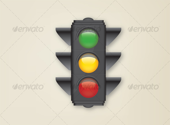 Stop Light - Man-made Objects Objects