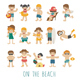 People on the Beach - GraphicRiver Item for Sale