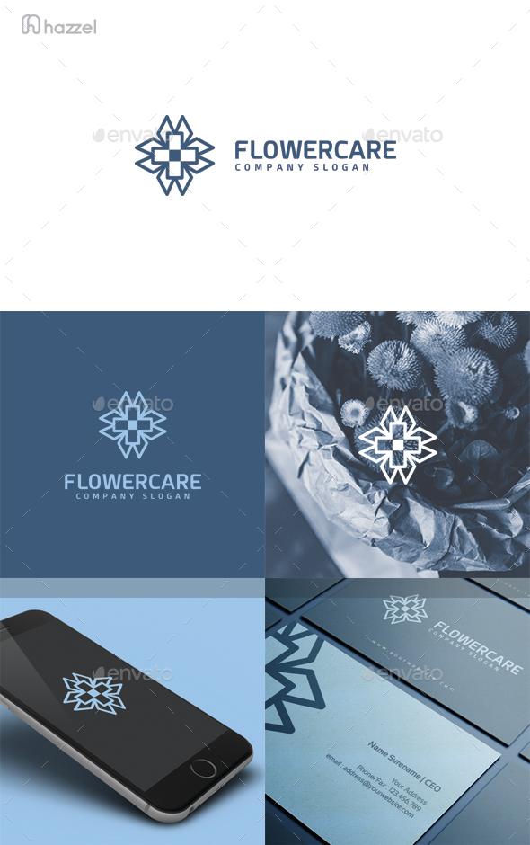 Flower Care Logo - Symbols Logo Templates