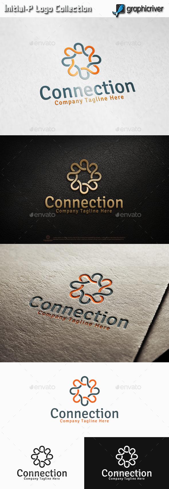 Connection Logo - Abstract Logo Templates