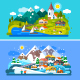 Nice Alps Landscapes. - GraphicRiver Item for Sale