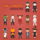 Halloween Characters  - GraphicRiver Item for Sale