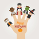 Finger Monsters Halloween - GraphicRiver Item for Sale