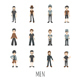 Set of Men - GraphicRiver Item for Sale