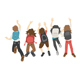 Teenage Jumping - GraphicRiver Item for Sale