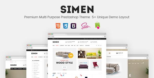 SNS Simen – Responsive Prestashop Theme