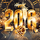 2016 New Year Party | Psd Flyer Template - GraphicRiver Item for Sale