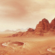 Martian Landscape One - VideoHive Item for Sale