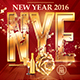 New Year Celebration 2016 | Psd Flyer Template  - GraphicRiver Item for Sale