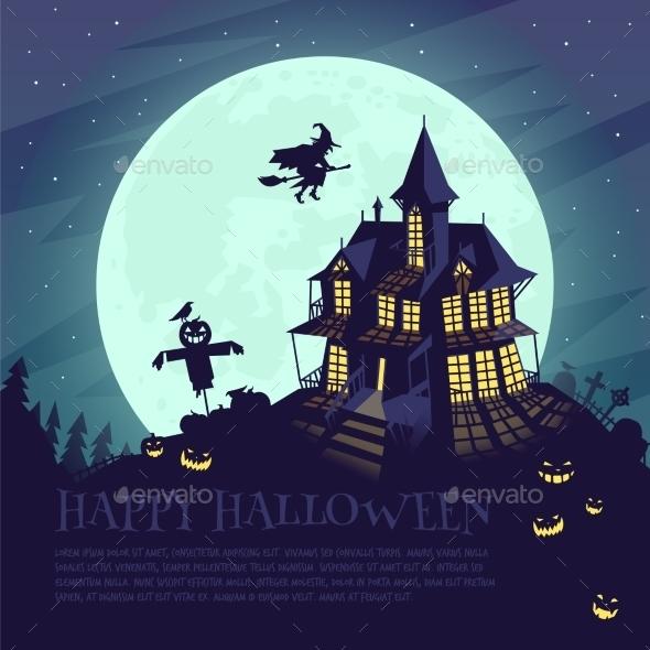 Halloween Landscape - Halloween Seasons/Holidays