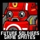 Future Soldiers - Game Sprites - GraphicRiver Item for Sale