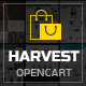 Harvest - Responsive Multipurpose OpenCart Theme Nulled
