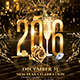 New Year Event 2016 | Psd Flyer Template  - GraphicRiver Item for Sale