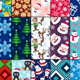 30 Christmas Seamless Patterns - GraphicRiver Item for Sale
