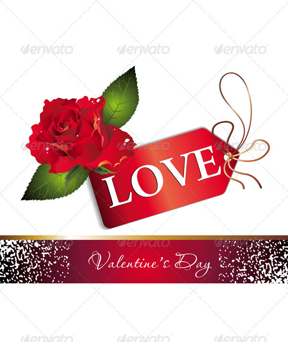 Valentine`s day card - Valentines Seasons/Holidays