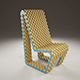 Cork Chair - 3DOcean Item for Sale