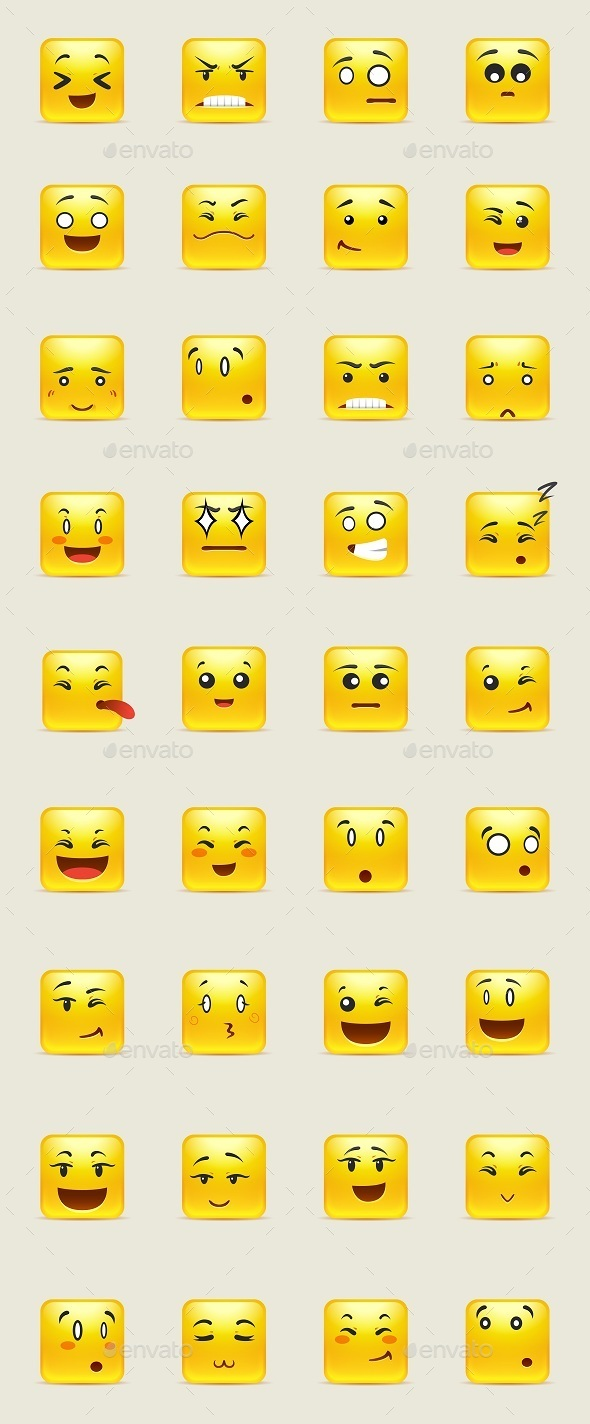 Square Smiles - Miscellaneous Characters