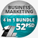 4 in 1 Bundle – 52 Business Marketing Web Banners - GraphicRiver Item for Sale