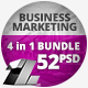 4 in 1 Bundle – 52 Business Marketing Web Banners. - GraphicRiver Item for Sale