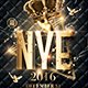 New Year Party | Classy Flyer Template - GraphicRiver Item for Sale