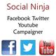 Social Ninja - Facebook Twitter Youtube Campaigner